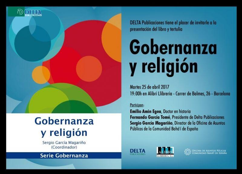 Presentación del libro Gobernanza y religión