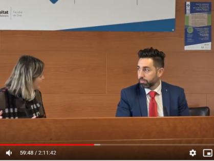Entrevista en Universidad de Baleares sobre la Fe bahá'í y la ley orgánica de libertad religiosa