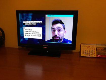 Entrevista en RTVE 1 sobre el impacto de la pandemia sobre las relaciones sociales