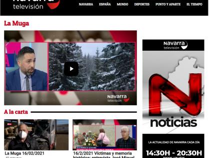 Entrevista en el programa la Muga de Navarra Televisión: Cronología de una pandemia