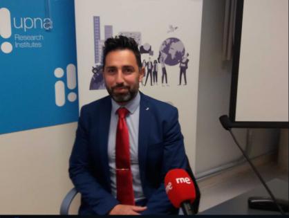 Entrevista en los informativos de Radio Nacional de España, Navarra, sobre jóvenes y pandemia