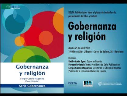 Entrevista sobre el Congreso Gobernanza y Religión del Palau Robert