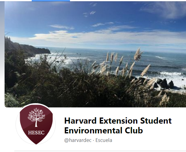 Conference on cognitive sustainability at the Harvard Extension Student Environmental Club