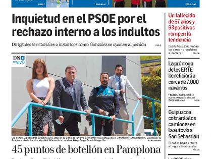 Tertulia en DN en Vivo sobre el problema del botellón en Pamplona durante la pandemia