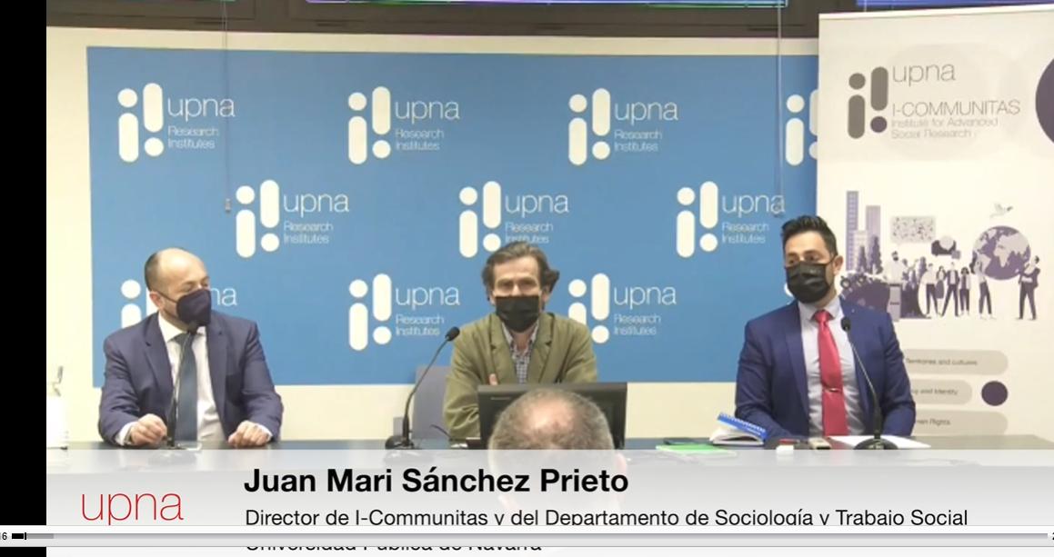 Los vídeos de la jornada internacional de la UPNA sobre radicalización violenta ya están disponibles