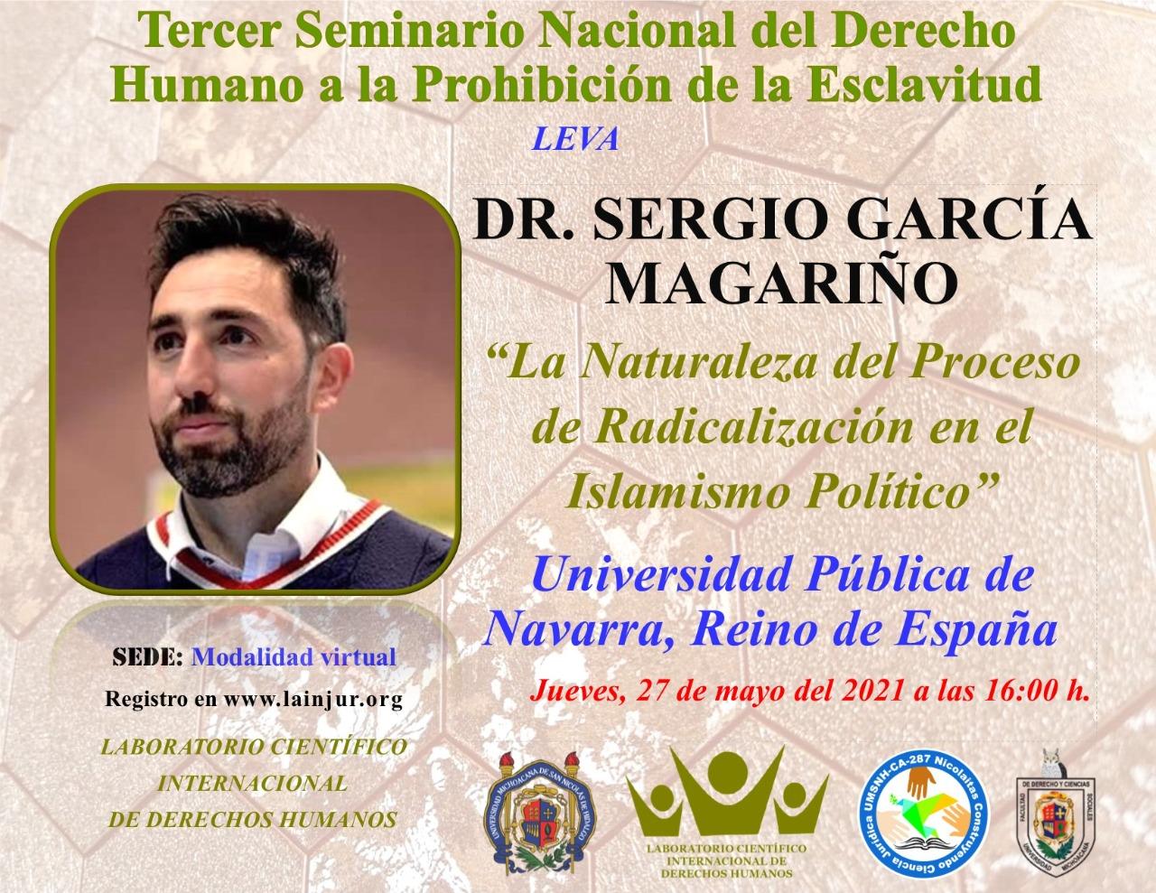 Conferencia sobre radicalización violenta para el Laboratorio Científico Internacional sobre Derechos Humanos